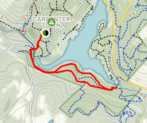 Snowflake and Frost Hollow Trails Map