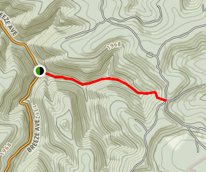 Water Trough Hollow Trail Map