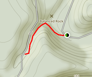 Abbott Run Trail Map