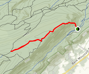 Sassafras Trail Map