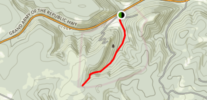 Elm Hollow Trail Map