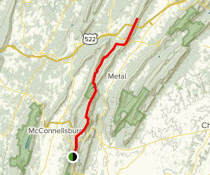 Tower Road and Tuscarora Trail Map