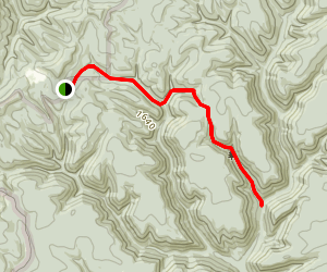Cow Run Trail Via Nelson Hollow Trail Map