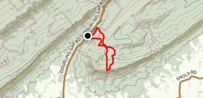 Tuscarora Trail Loop Map