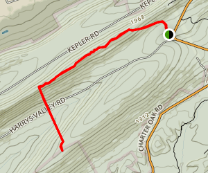 Campbell Trail and Crownover Trail Map