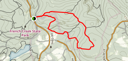Buzzard Trail Map