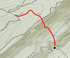 Bigelow Trail Map