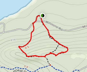 Millstone Trail Map
