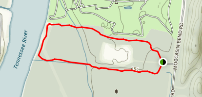 Blue Blazes Trail Map