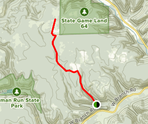 Wetmore Trail Map