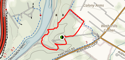 Mill Grove Loop Trail Map