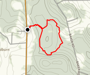 Hemlock Loop Map