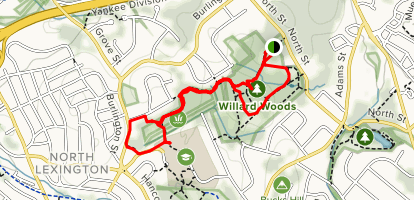 Willard Woods Map