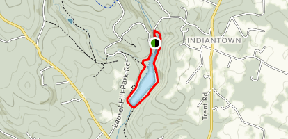 Copper Kettle and Laurel Lake Trail Map