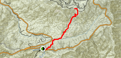 Silver Moccasin Trail Map