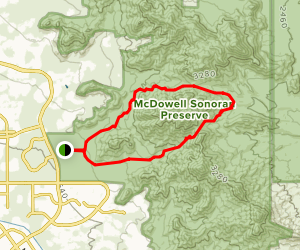 Gateway, Bell Pass, and Windgate Loop Trail Map