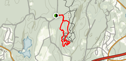 Howard Ridge and Green Street Loop Trail Map