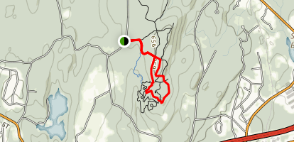 Fisher Trail and Tyler Trail Loop Map