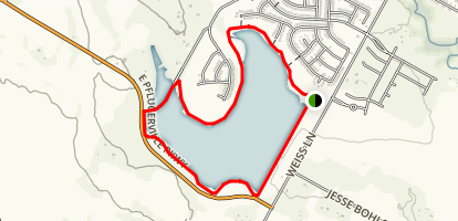 Lake Pflugerville Trail Map