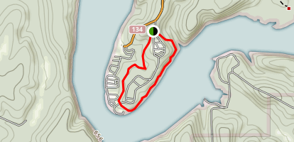 Lakeview Bend Trail Map