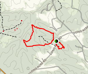 Scheier Natural Area Trails Map