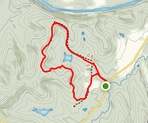 Glassberg Family Conservation Area Trail Map