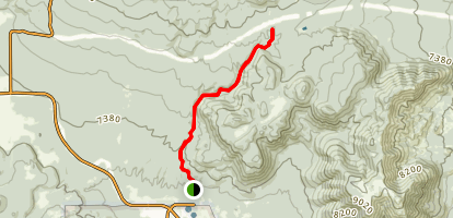 Schultz Creek Trail Map
