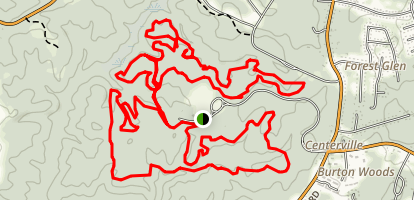 A and C Trails Map