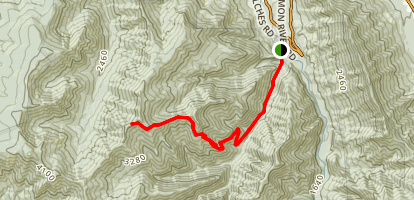 Bonanza Trail Map