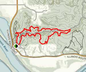 Pere Marquette State Park Loop Map