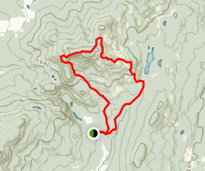 Mount Singer Summit Trail  Map