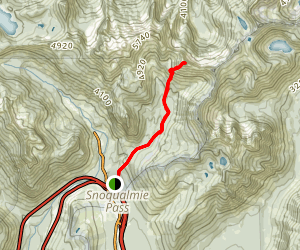 Red Mountain via Old Commonwealth Trail Map