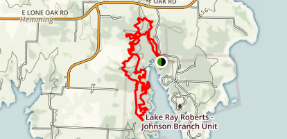 Johnson Branch Trail  Map