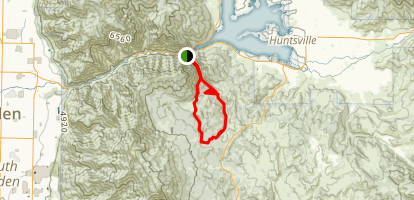 Wheeler Creek Trail Map
