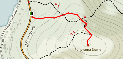 Panorama Dome Trail Map