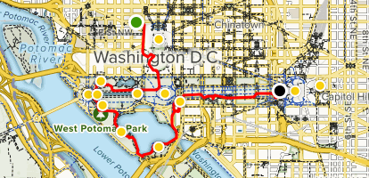 Walking Tour of Monuments and Memorials - District of Columbia ...