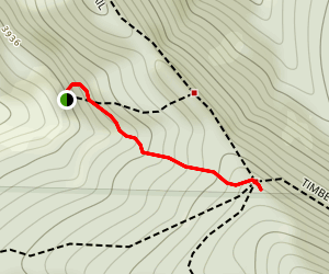 Top Spur Trail Map