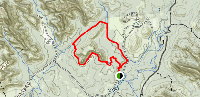 Mescal Mountain Loop Trail Map