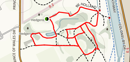 Bill Holand Trail Map