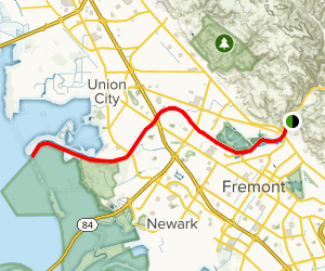 Alameda Creek Regional Trail Map
