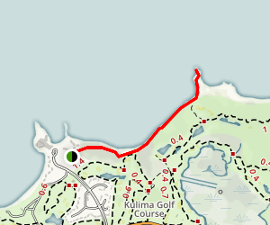 Turtle Bay To Kahuku Point Map