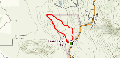 Crane Creek Canyon Trail Map