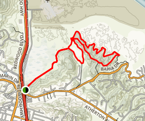 Brutal Rush Creek Bahia Trail Map