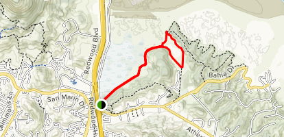 North Levee Trail Map