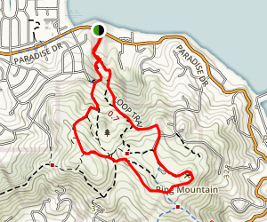 Ring Mountain Open Space Trails Map