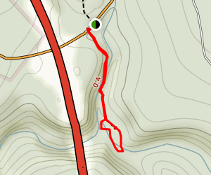 hawk falls trail map