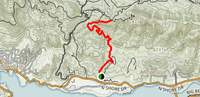 Cougar Crest Trail  Map