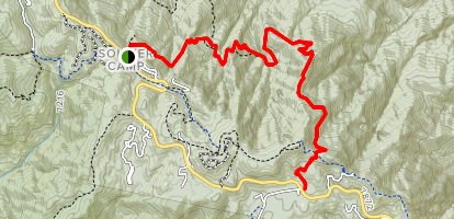 Butterfly Trail Map