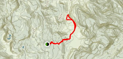 Windy Pass Trail Map