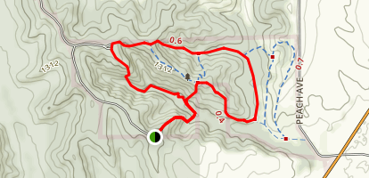 Preparation Canyon State Park Loop Map
